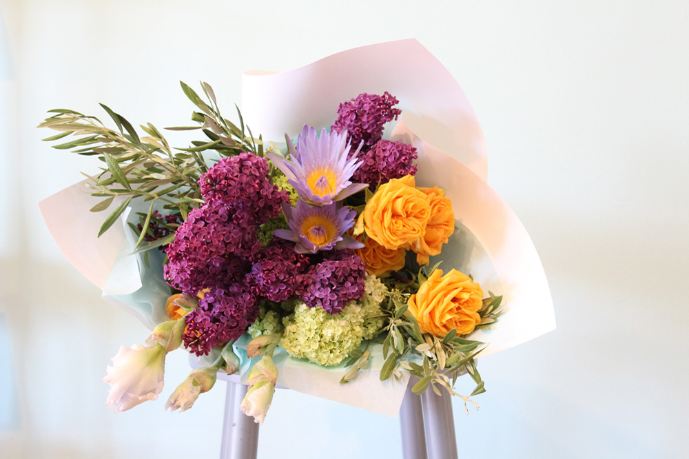 Wedding Flowers - October is for Lilac