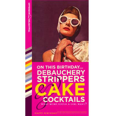 Debauchery, Strippers, Cake & Cocktails