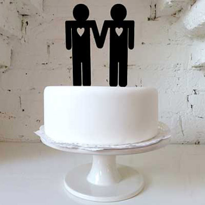 His & His Cake Topper