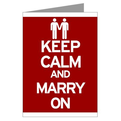 Keep Calm Marry On [Red]